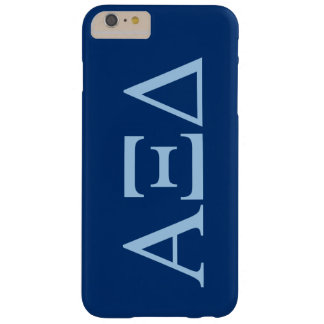 Alpha Xi Delta Lil Big Logo Barely There iPhone 6 Plus Case
