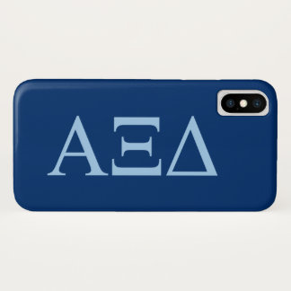 Alpha Xi Delta Lil Big Logo iPhone X Case