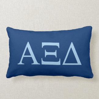 Alpha Xi Delta Lil Big Logo Lumbar Cushion