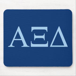 Alpha Xi Delta Lil Big Logo Mouse Mat