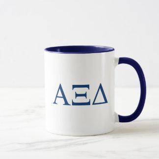 Alpha Xi Delta Lil Big Logo Mug