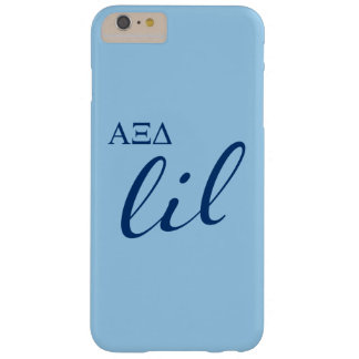 Alpha Xi Delta Lil Script Barely There iPhone 6 Plus Case