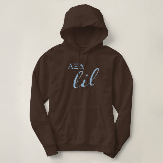 Alpha Xi Delta Lil Script Hoodie