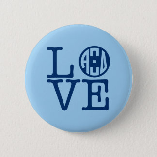 Alpha Xi Delta Love 6 Cm Round Badge