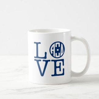 Alpha Xi Delta Love Coffee Mug