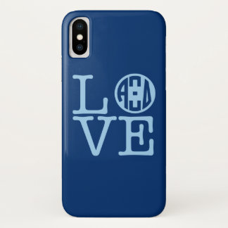 Alpha Xi Delta Love iPhone X Case