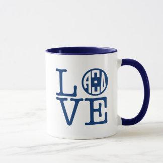 Alpha Xi Delta Love Mug