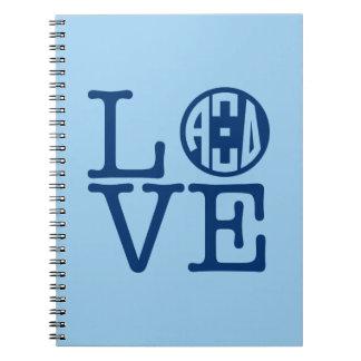 Alpha Xi Delta Love Notebook