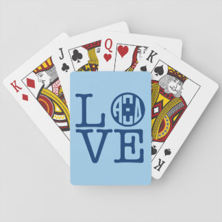 Alpha Xi Delta Love Playing Cards