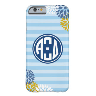 Alpha Xi Delta | Monogram Stripe Pattern Barely There iPhone 6 Case