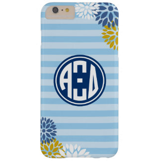 Alpha Xi Delta | Monogram Stripe Pattern Barely There iPhone 6 Plus Case