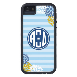 Alpha Xi Delta | Monogram Stripe Pattern iPhone 5 Case