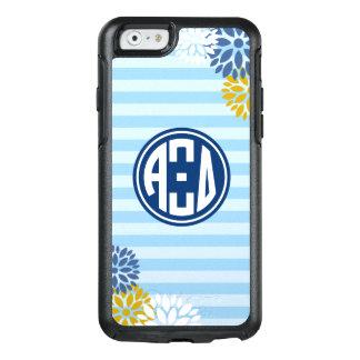 Alpha Xi Delta   Monogram Stripe Pattern OtterBox iPhone 6/6s Case