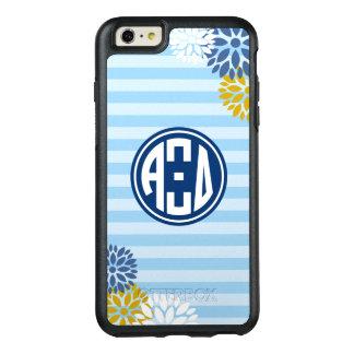 Alpha Xi Delta | Monogram Stripe Pattern OtterBox iPhone 6/6s Plus Case