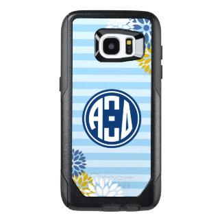 Alpha Xi Delta | Monogram Stripe Pattern OtterBox Samsung Galaxy S7 Edge Case