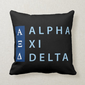 Alpha Xi Delta Stacked Cushion