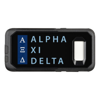 Alpha Xi Delta Stacked OtterBox Commuter Samsung Galaxy S8 Case