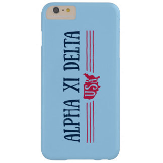 Alpha Xi Delta USA Barely There iPhone 6 Plus Case