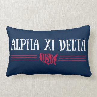 Alpha Xi Delta USA Lumbar Cushion