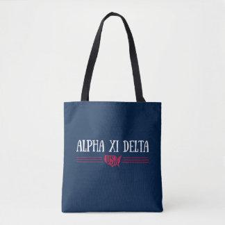 Alpha Xi Delta USA Tote Bag