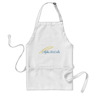 Alpha Xi Delta with Quill Standard Apron
