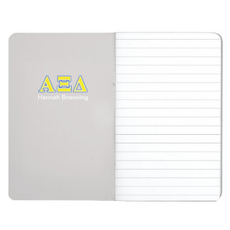 Alpha Xi Delta Yellow and Blue Letters Journal