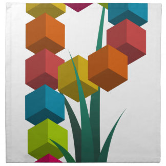 alphabep printed napkin