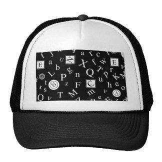 Alphabet ABC Hats