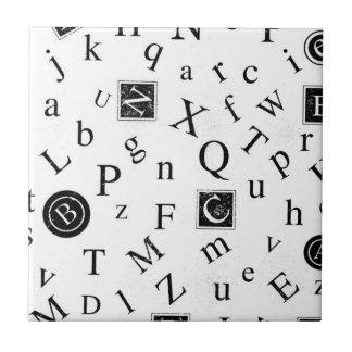 Alphabet ABC Tiles