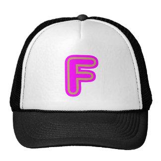 Alphabet ALPHAF FFF Trucker Hat