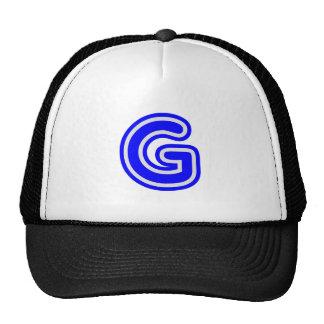 Alphabet ALPHAG GGG Mesh Hat