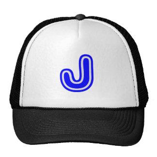 Alphabet ALPHAJ JJJ Trucker Hats