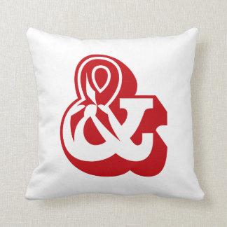 """Alphabet Ampersand """"AND"""" & English ABC Cushion"""