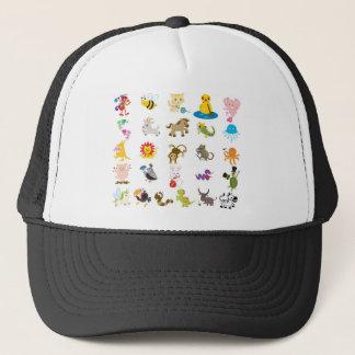 Alphabet Animal Trucker Hat