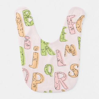 Alphabet Baby Bib