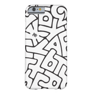 Alphabet Barely There iPhone 6 Case
