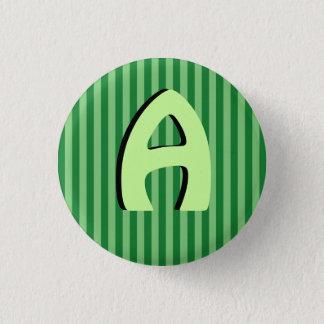 Alphabet Capital Green Lines Button