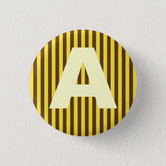 Alphabet Capital Yellow Lines Button