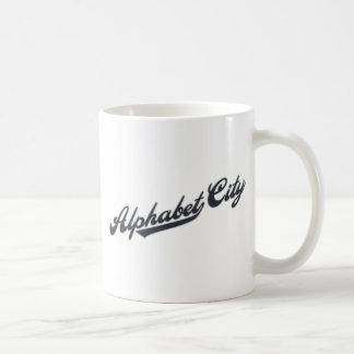 Alphabet City Coffee Mugs
