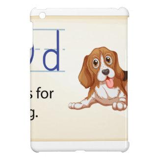 Alphabet D iPad Mini Cover