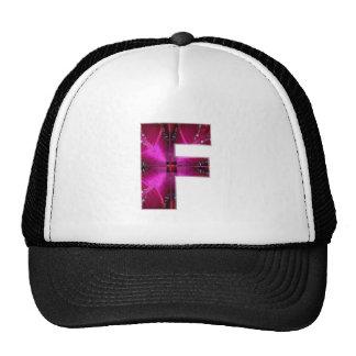 Alphabet  F FF FFF  :  Sparkle Theme Cap