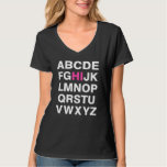 Alphabet Flirt Tshirts