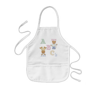 Alphabet Fun Teddy Bears Kids Apron