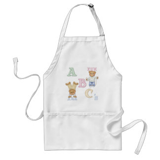 Alphabet Fun Teddy Bears Standard Apron