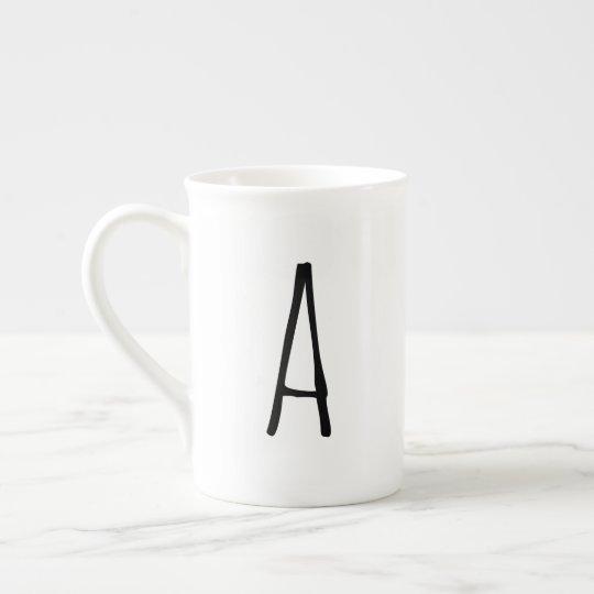 Alphabet Gifting Modern Monogram Mug