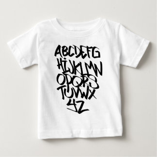 alphabet graffiti baby T-Shirt