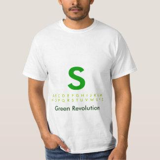 Alphabet Green S Tshirt
