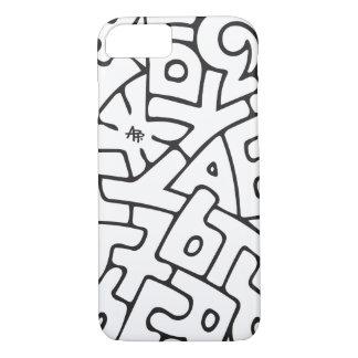 Alphabet iPhone 7 Case