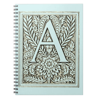 Alphabet Letter A Notebook