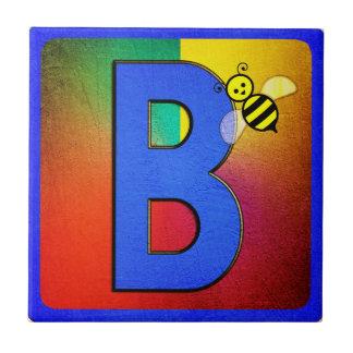 Alphabet Letter B Tile